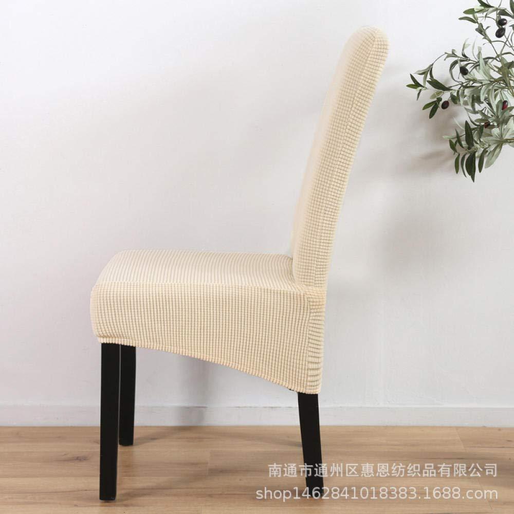 Jasken yyqx container Stuhlbezug Stuhl Stuhlset Stuhl Typ 2 Garnituren, gestricktes Diagonalpendel weiß Standard