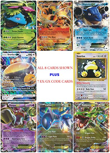 8 EX GX Promo Card Set + 7 Online Code Cards - Charizard ...