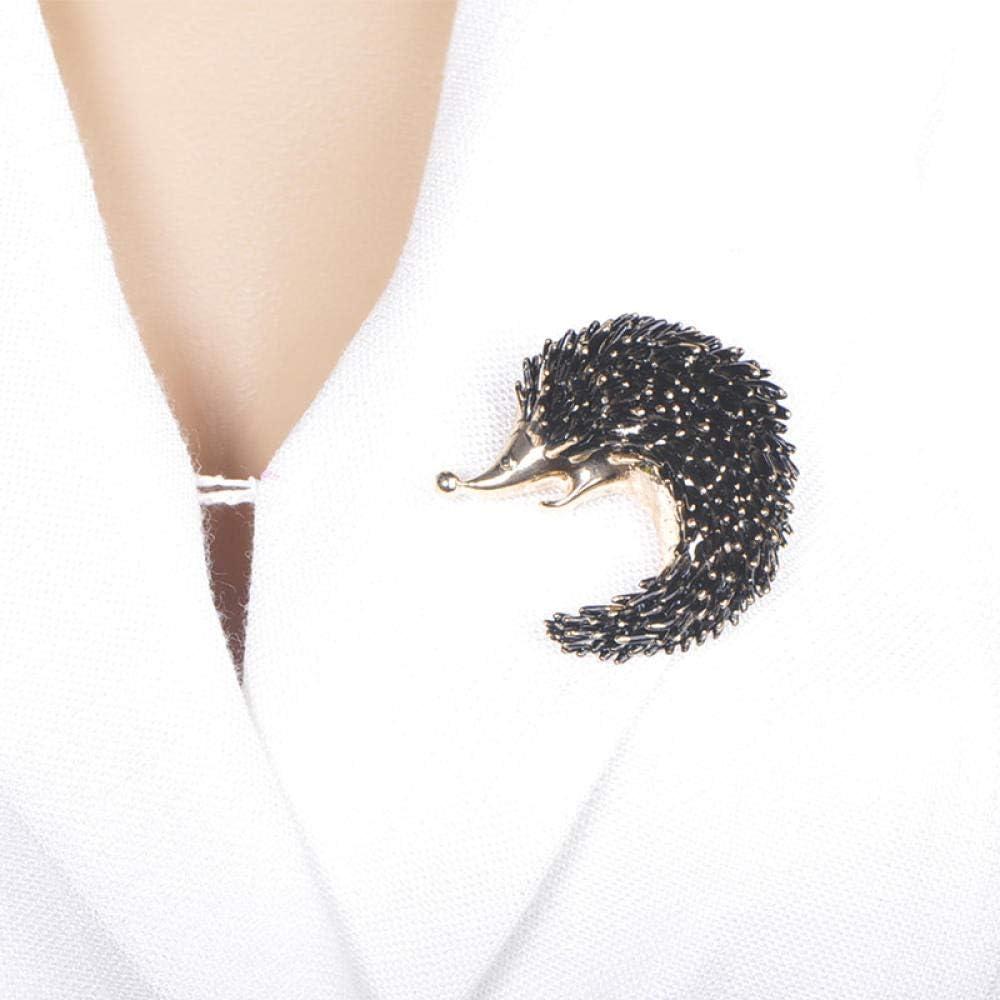 KXBY Vives h/érisson Forme Broches /émail Broches pour Femmes Manteau Chemisier Cardigans d/écoration Bijoux Accessoires de routineBroche Animali/ère R/étro