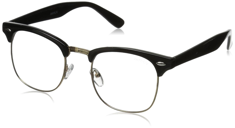 zeroUV ZV-2933e Wayfarer Sunglasses Black 49 mm zeroUV Sunglasses