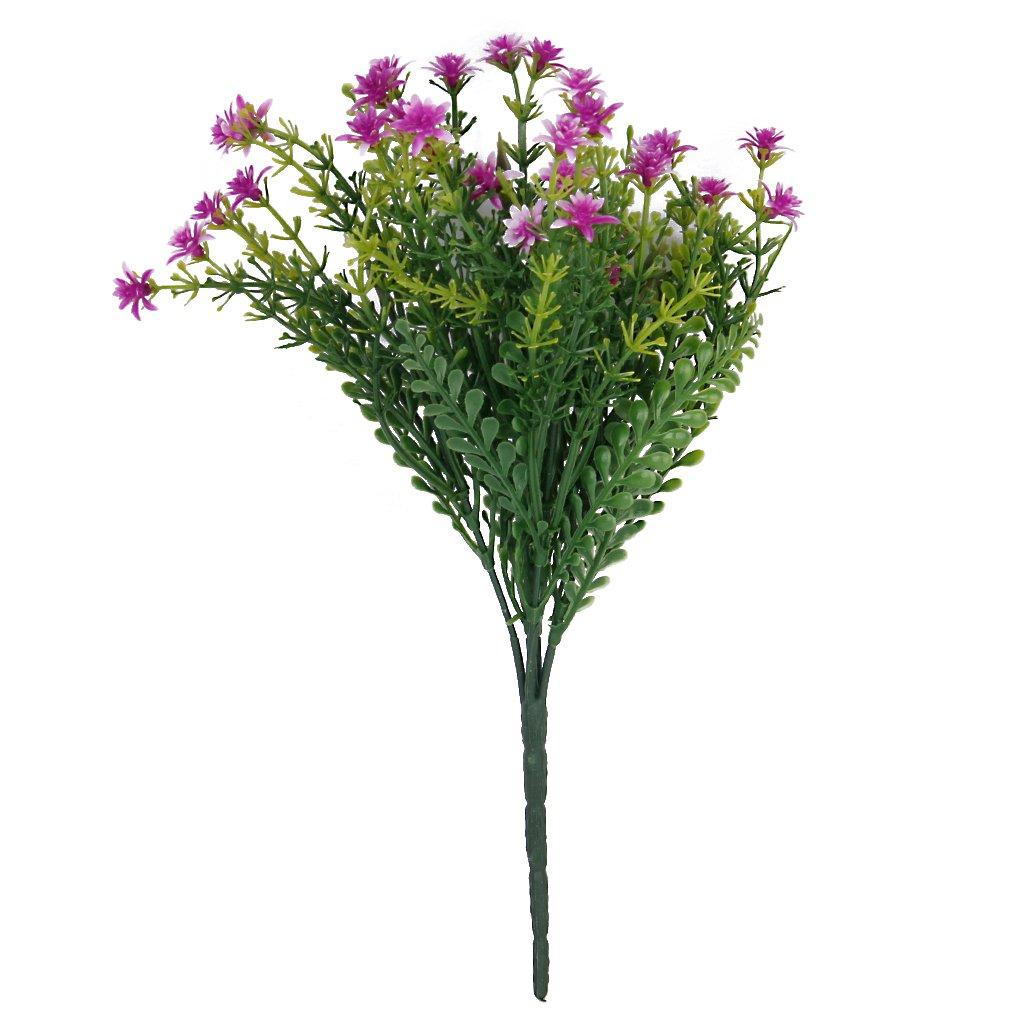 1x-Artificial-Plastic-5-Branches-Jasmine-Grass-Flower-For-Home-Wedding-Decor