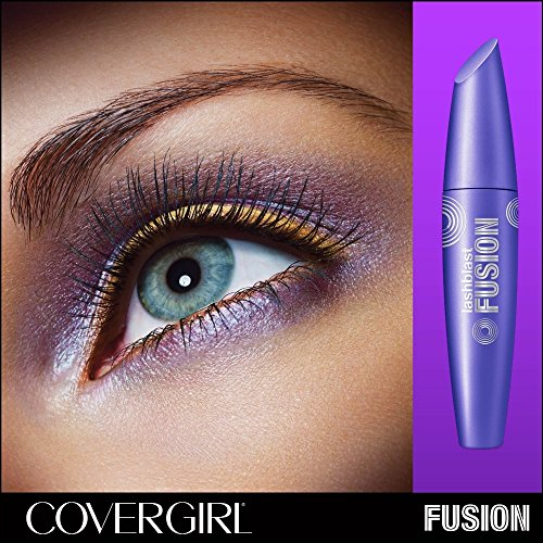 CoverGirl LashBlastFusion Mascara, Very Black [860], 0.44 oz (Pack of 8) by Cover Girl