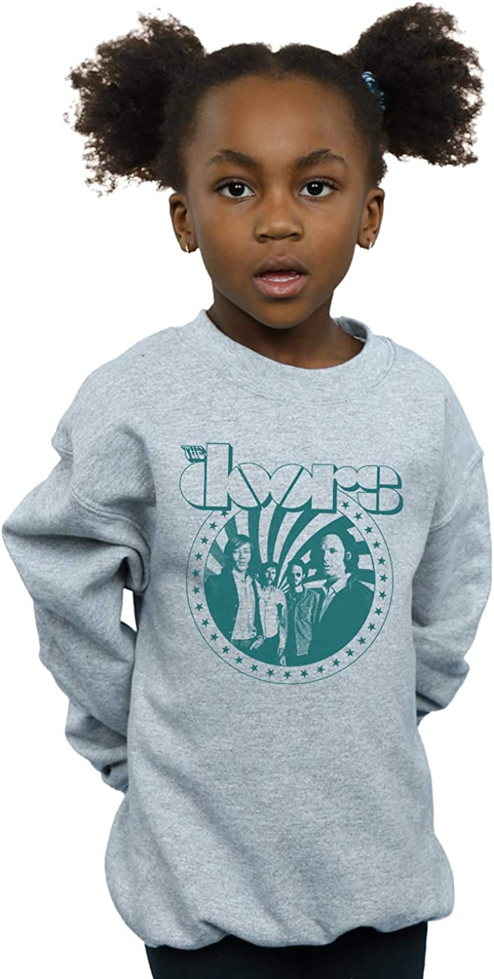 The Doors Girls Stars Spiral Sweatshirt