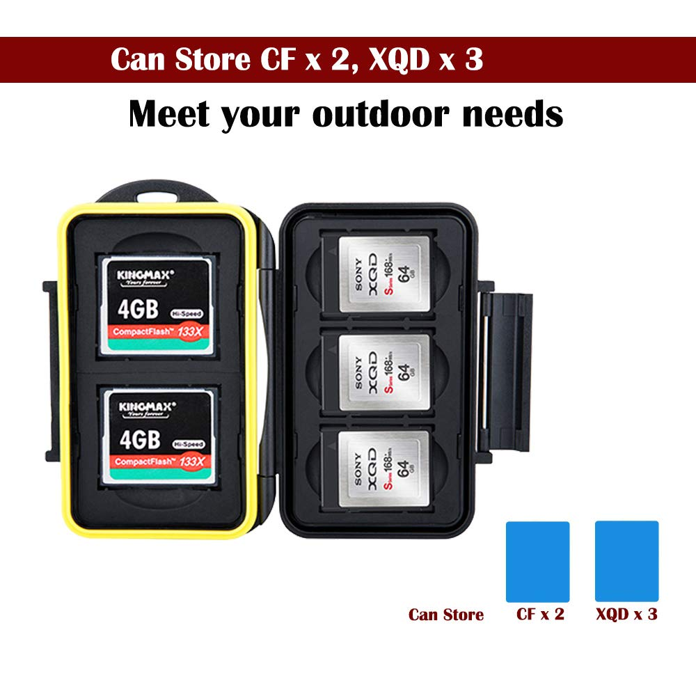 8 Slots SD Micro SD Card Case Holder Storage Organizer with a Card Removal Tool /& Lanyard,Water-Resistant Anti-Shock/fit 4 SD SDHC SDXC Cards and 4 TF Micro SD Cards