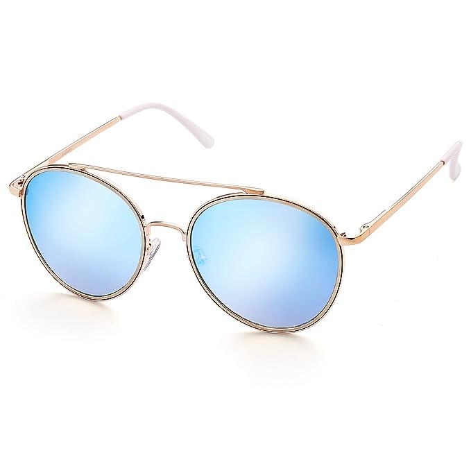 Amazon.com: anteojos de sol para mujer por LotFancy, Marrón ...