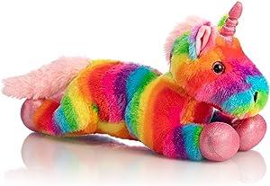 HollyHOME Plush Unicorn Stuffed Animals Rainbow Unicorn Toy Holiday Birthday Gift for Girls 16 Inch
