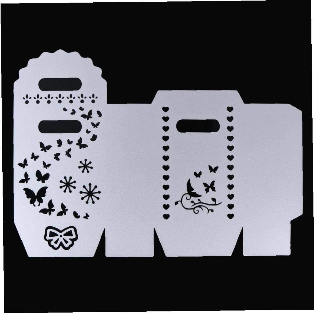 Troqueles De Corte De Acero Al Carbono Plantilla Diy Del Molde Para El Arte Tarjeta De Papel Del Libro De Recuerdos Del /Álbum Craft Decoraci/ón