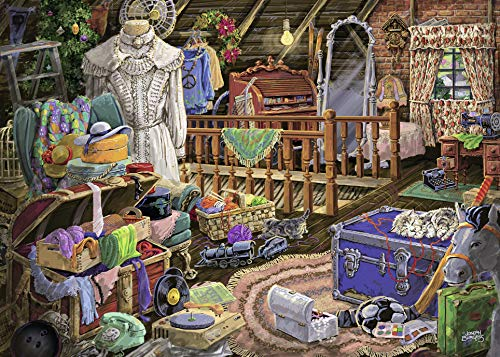 Ravensburger The Attic Large Format 500 Piece Jigsaw Puzzle Adults