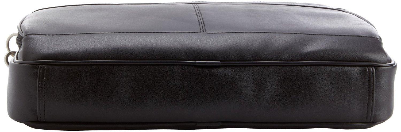 Samsonite Leather Slim Brief Case, 2-1/2''x15-3/4''x11-3/5'', Black (48073-1041)