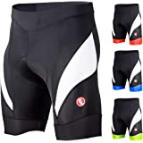 Souke Sports Men's Cycling Shorts 4D Padded Road Bike Shorts Breathable Quick Dry Bicycle Shorts