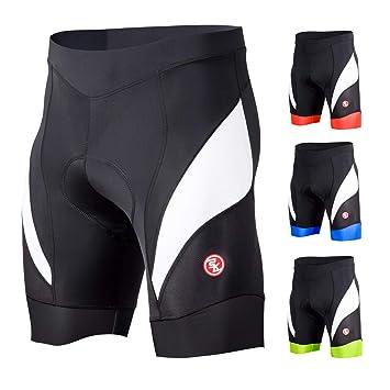 Souke Sports Mens Cycling Underwear 4D Padded Breathable Bike Undershort Shorts Anti-Slip Design