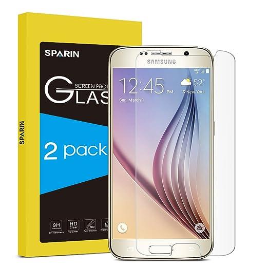 2 opinioni per [2-PACK] Samsung Galaxy S6 Pellicola Protettiva, SPARIN Galaxy S6 Vetro