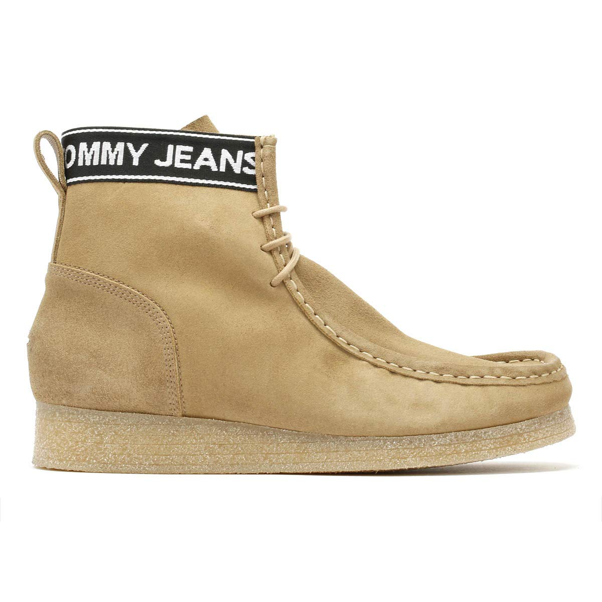 Tommy Hilfiger Jeans Crepe Outsole Wallaby Hommes Sand Beige