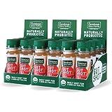 Live Probiotic Apple Cider Vinegar Shots, Immunity Boost & Gut Health, Organic & Fermented 24-Pack Apple Cinnamon ACV…