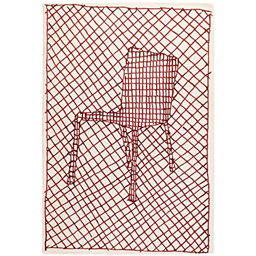 Teppich Toulemonde bochart–Teppich La Chaise rot by Toulemonde bochart–170x 240cm