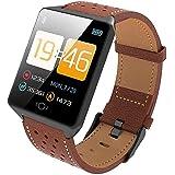 iBaste-ES Bluetooth Fitness, Actividad Impermeable, Reloj, Podómetro, Sueño,…