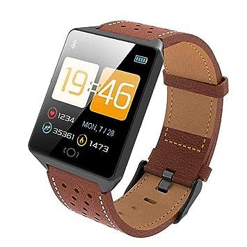 iBaste-ES Bluetooth Fitness, Actividad Impermeable, Reloj, Podómetro, Sueño, Corazón