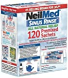 NeilMed SinusRinse Saline Nasal Rinse 120 Sachets