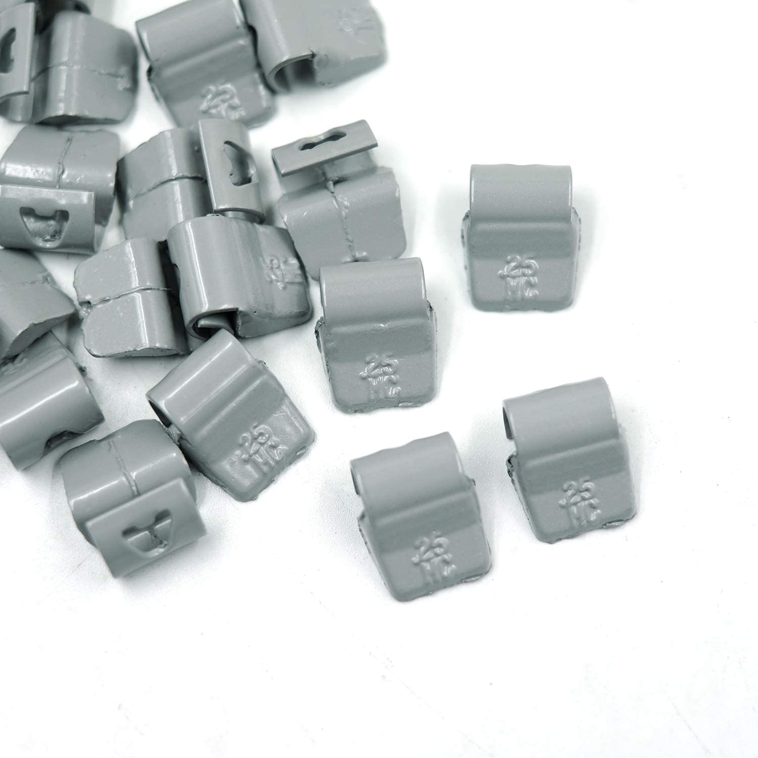 25Pcs//Box CKAuto MC-Series Coated 1.5oz Lead Clip on Wheel Weights