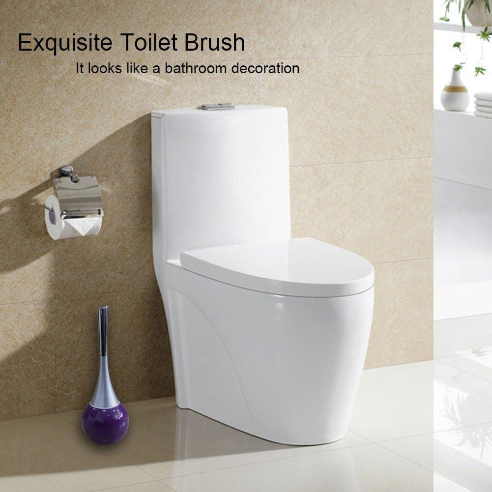 Brosse WC Poign/ée en plastique acrylonitrile butadi/ène styr/ène Base en acier inoxydable 304/