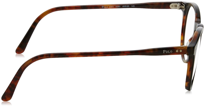 27a1048bc73 Eyeglasses Polo PH 2083 5260 TOP BLACK HAVANA at Amazon Men s Clothing  store