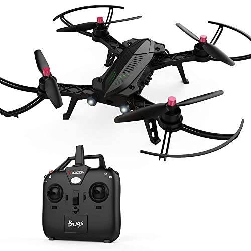 DROCON Bugs 6 Motor Drone RTF Quadcopter Para Entrenamiento Soporte FPV