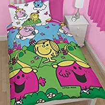 Mr Men and Little Miss Men and Little Miss Princess Missland Single Rotary Duvet Set by Character World