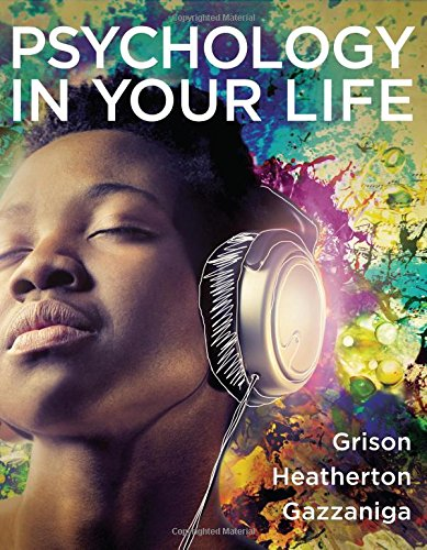 Psychology in Your Life -  Grison, Sarah, Paperback