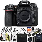 Nikon D7500 DSLR Camera With 18-140mm ED VR Lens - Includes Manufacturer Supplied Accessories (Body Only, Basic Bundle)