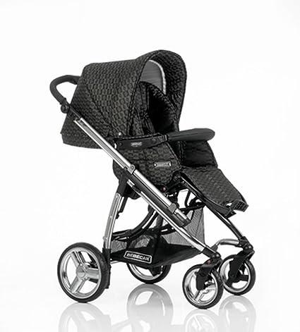 Bebecar Ipop carrito de bebé (terciopelo negro)