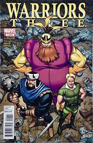 2011 - Marvel Limited Series - #1 of 4 - Warriors Three -
