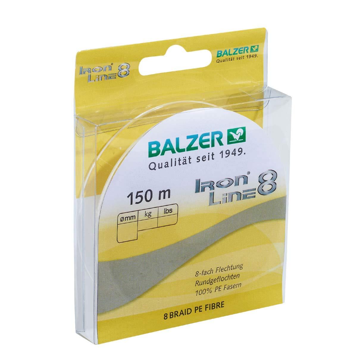 Balzer Iron Line 8 150 m Spule geflochte Schnur