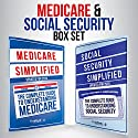 Medicare and Social Security Simplified Set Audiobook by  ClydeBank Finance Narrated by Lucy Vest, Amy Barron Smolinski