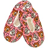Disneys Bambi & Thumper Printed Disneys Bambi & Thumper Printed Slipper Socks Slipper Socks (Small-Medium / 6-7.5 B(M) US)
