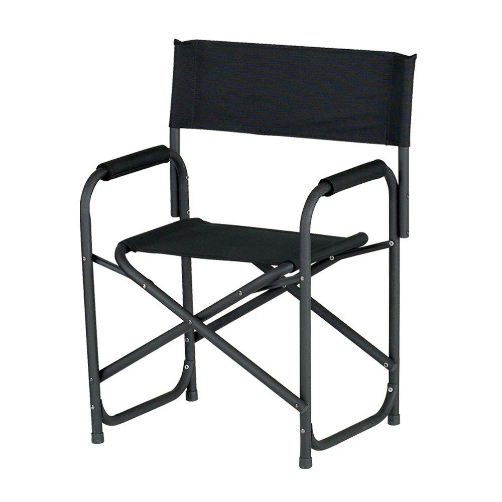 ez up directors chair standard black amazon co uk garden outdoors