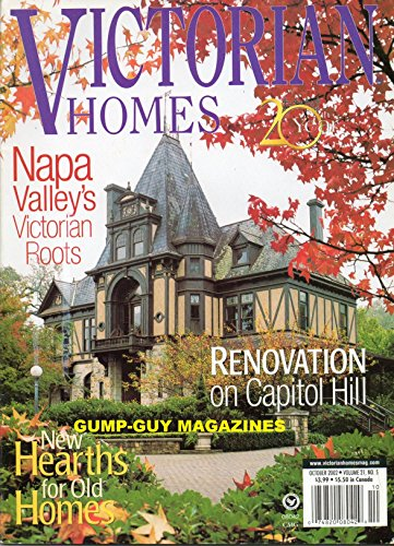 VICTORIAN HOMES October 2002 Magazine NAPA VALLEY'S VICTORIAN ROOTS New Hearths For Old Homes FINDING GOLD IN MAINE: WEALTH CAME BACK TO BELFAST AND BUILT A STATELY MANSION