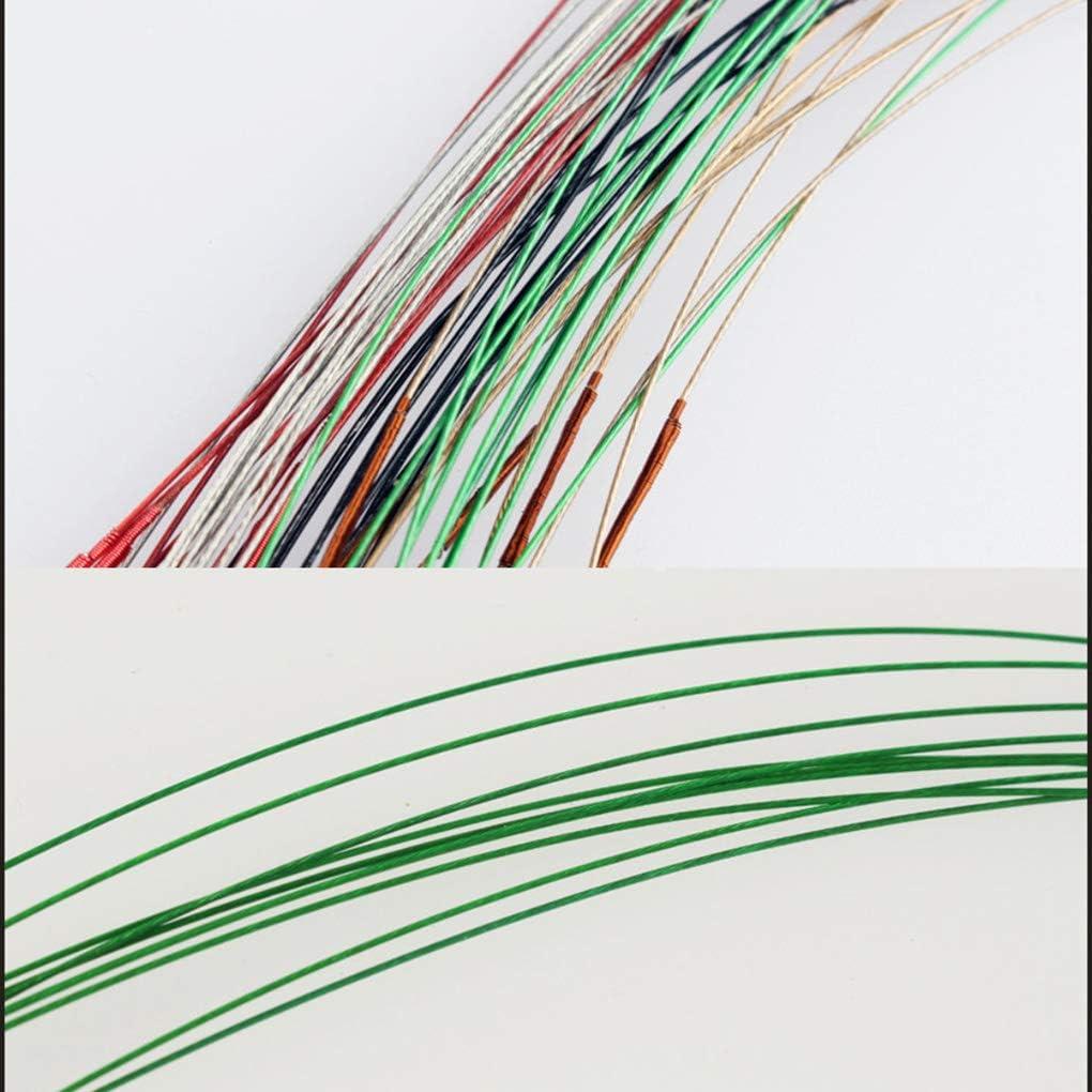 Yihaifu 10pcs Angeln Stahlvorf/ächer Edelstahl Geflochtene Trace Spinning F/ührer Rigs Stahldraht Angelschnur