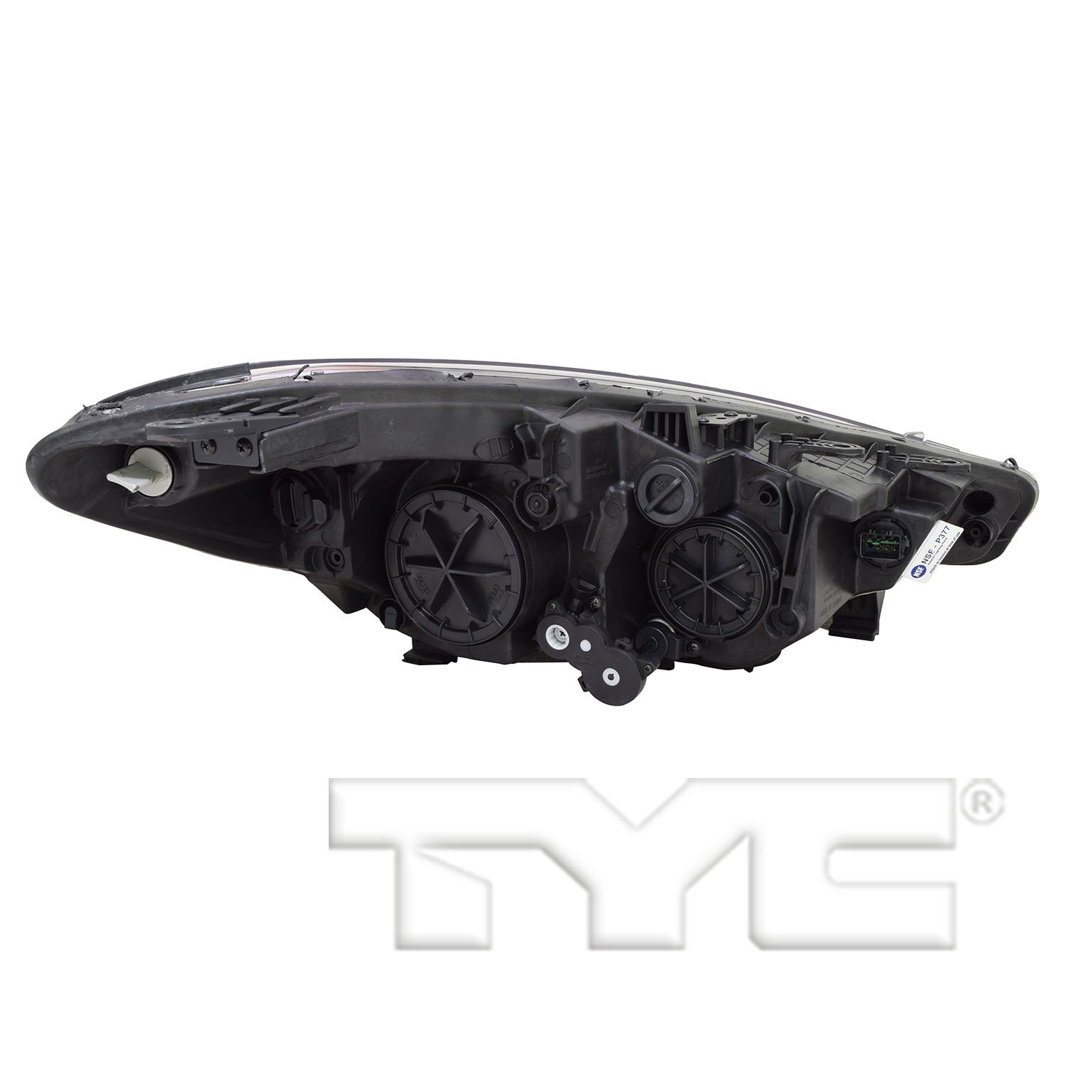 TYC 20-9460-80-1 Replacement Left Head Lamp for KIA Forte