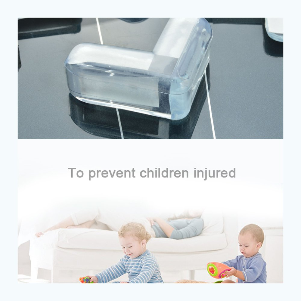 Furniture Table Corner Protector,Protect Children's Safety,12pcs / pack by DANXQ (Image #2)