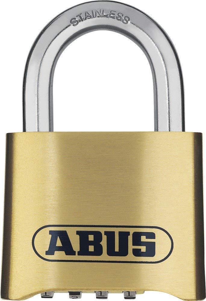 Abus  180IB/50  Combination Padlock Stainless Shackle ABU180IB50C