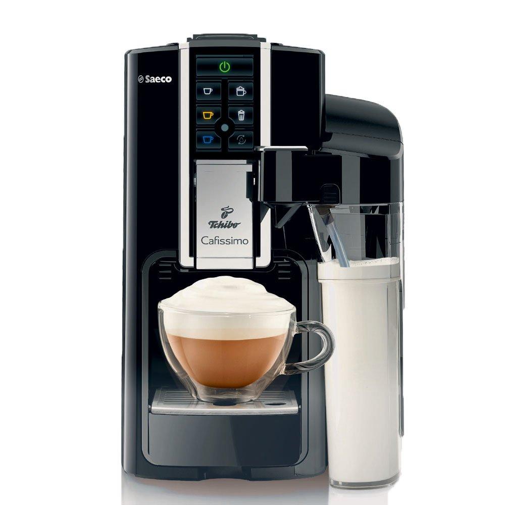 Tchibo Cafissimo Latte Capsule Machine, Black [Energy Class A] 301239