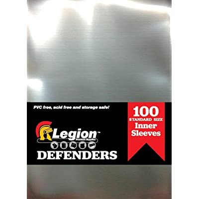 Legion Supplies DEF001 Defenders Standard Sleeve (100-Piece): Toys & Games [5Bkhe1102811]