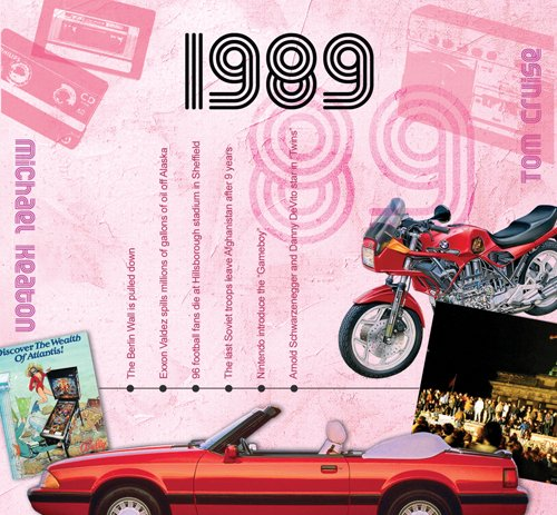 The CDCard Company 1989 The Classic Years CD Greeting Card