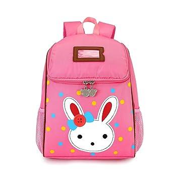 88b77e18b03e Kids Backpack Children Toddler Nursery Pre School Lunch Bag Cute Mini  Rabbit Travel Backpacks