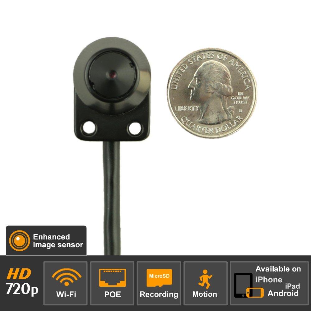 Titathink Hidden IP Spy Camera, Black, Mini tiny (TT520PW-PRO)