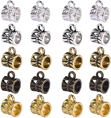 10 x Connectors Bead or Charm Hanger ideal for Craft Jewellery Making