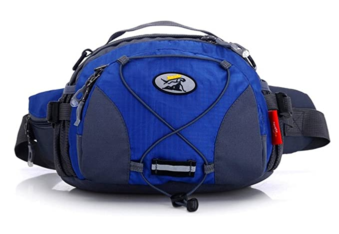 Waist pack travelling bag shoulder bag waterproof bag,blue