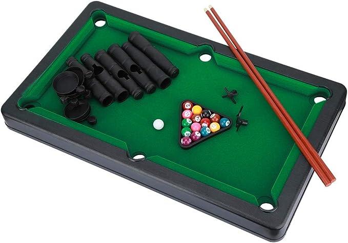 VGEBY1 Mini Juegos de Mesa de Billar, Mini Billar Bola Juego de Mesa de Billar Mini Mesa de Billar Juguete de Entretenimiento para niños: Amazon.es: Juguetes y juegos