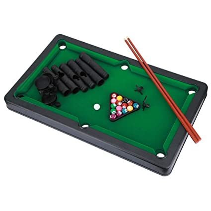 Mootea Kids Mini Pool Table Game, Mini Billiard Ball Snooker Pool ...