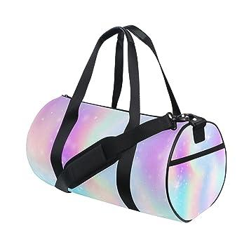 Amazon.com: ALAZA rosa corazones brillantes bolsa de viaje ...